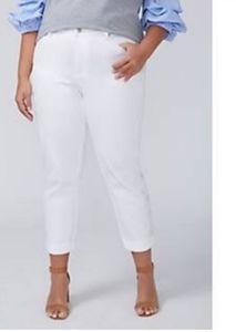 Lane Bryant Girlfriend Crop Jeans, Size 20